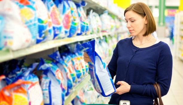 Etiquetas para productos de aseo y limpieza