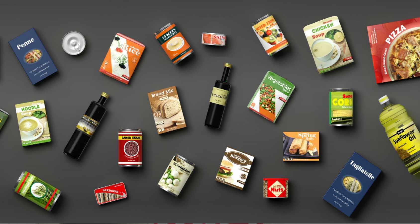 Productos alimenticios.